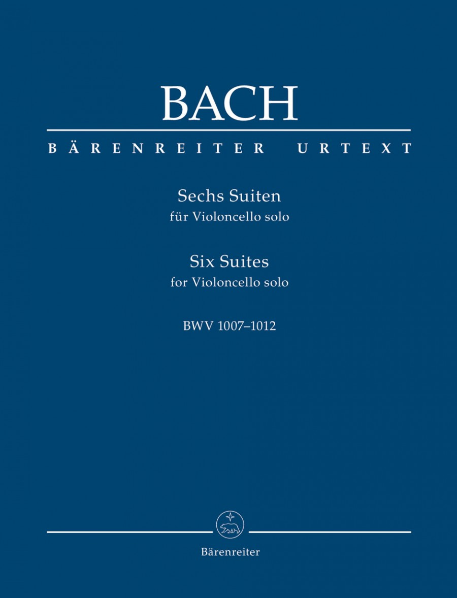 Bach: 6 Solo Suites for Cello (Synoptic Hardback Edition) published by Barenreiter
