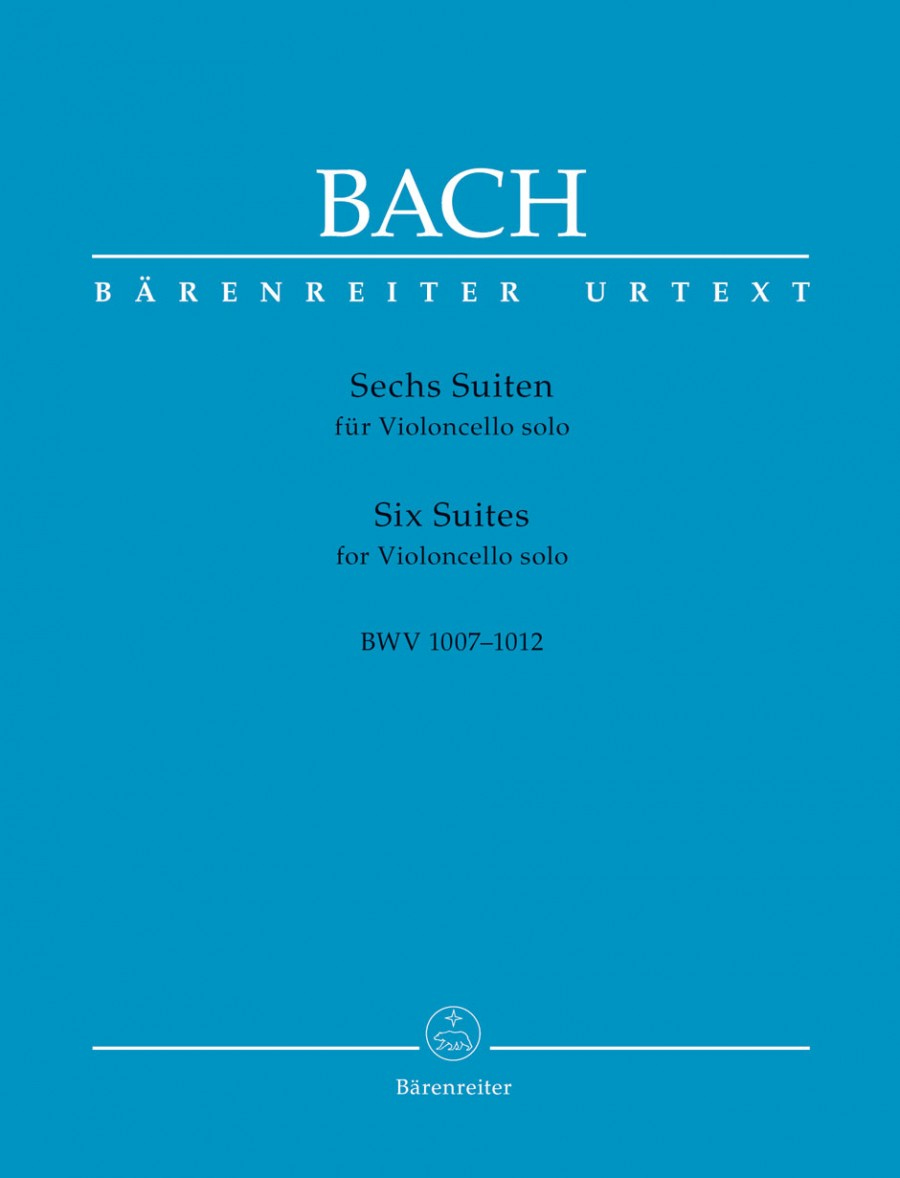 Bach: 6 Solo Suites for Cello (Synoptic Edition) published by Barenreiter