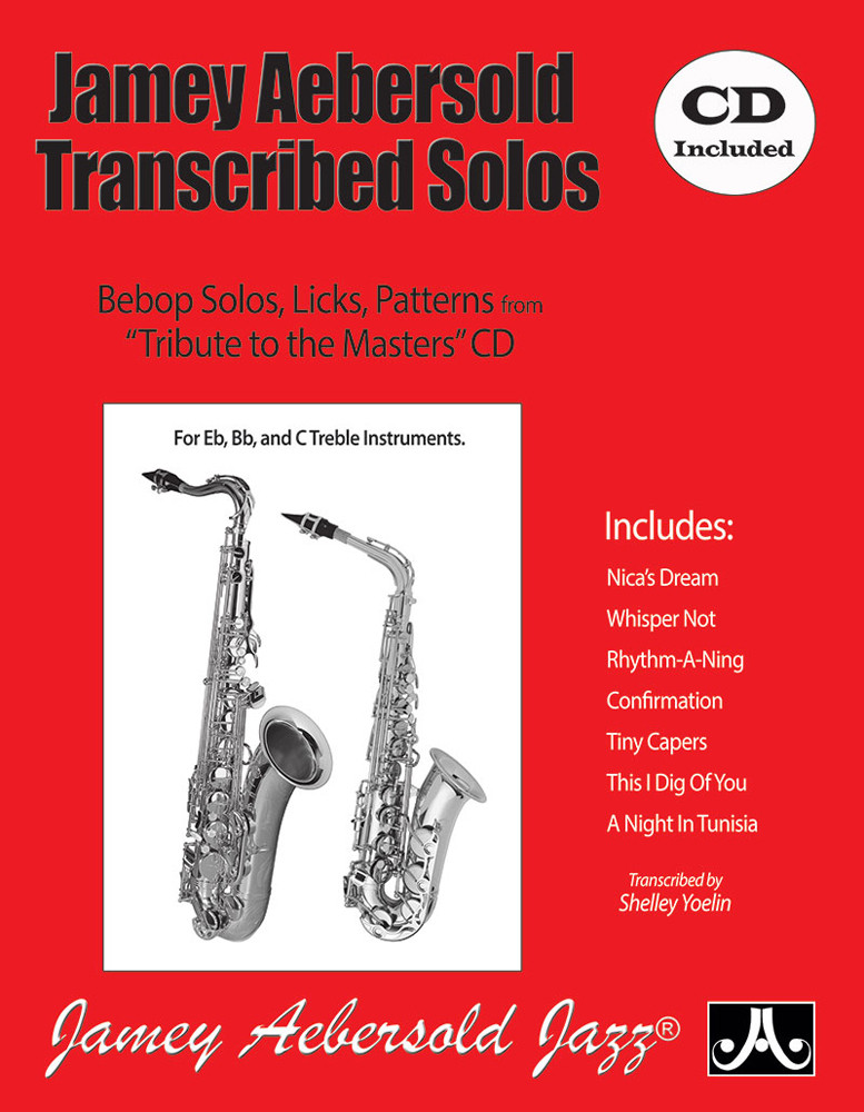 Aebersold: Transcribed Solos Book & CD for All Instruments