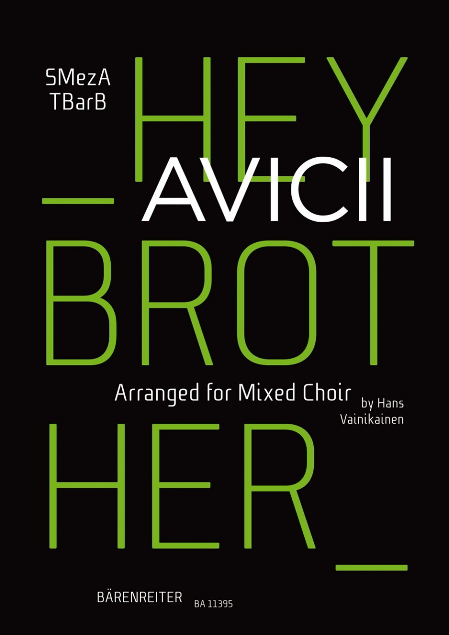 Avicii: Hey Brother SMezATBarB published by Barenreiter