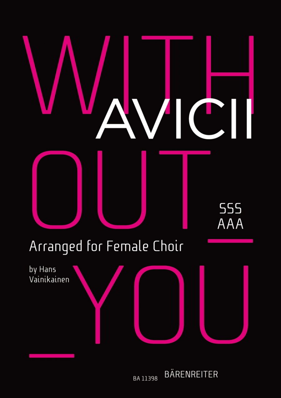Avicii: Without you SSSAAA published by Barenreiter