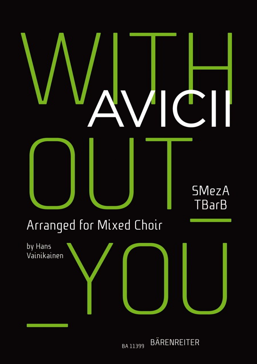 Avicii: Without you SMezATBarB published by Barenreiter