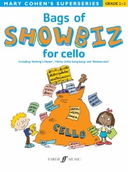 Bags of Showbiz for Cello (Grade 2 - 3) published by Faber