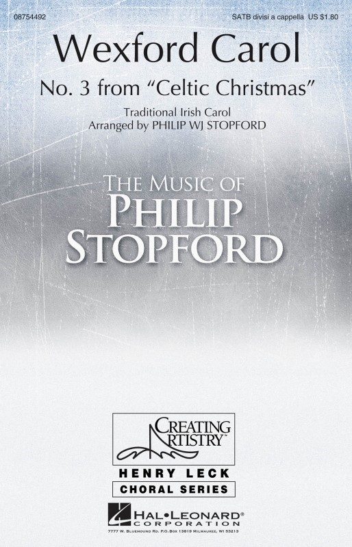 Stopford: The Wexford Carol SATB published by Hal Leonard