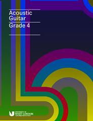 LCM Acoustic Guitar Handbook from 2019 Grade 4