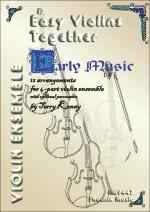 Easy Violins Together - Early Music published by Phoenix