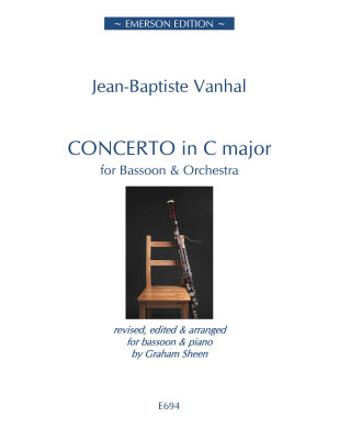 Concerto in C by Vanhal for Bassoon published by Emerson