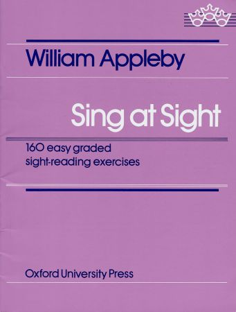 Sing At Sight by Appleby published by OUP