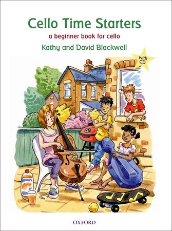 Cello Time Starters Book & CD published by OUP