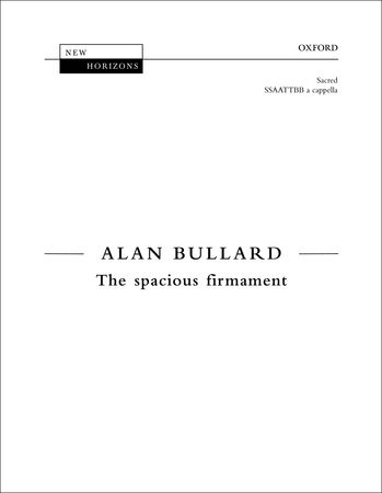 The spacious firmament by Bullard published by Oxford University Press (OUP)