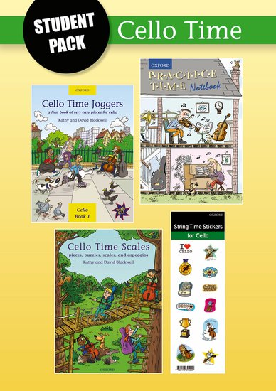Cello Time Student Pack published by OUP
