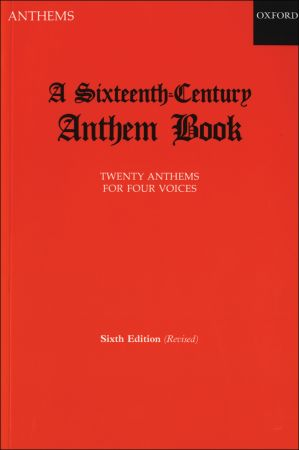 A Sixteenth-Century Anthem Book published by OUP