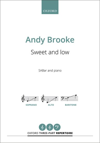 Brooke: Sweet and low SABar published by OUP