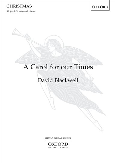 Blackwell: A Carol for our Times SA published by OUP