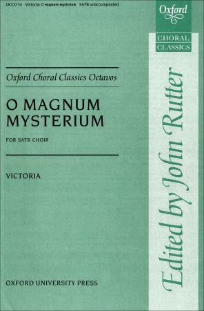O magnum mysterium by Victoria published by Oxford University Press (OUP)
