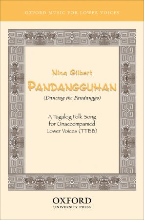 Gilbert: Pandangguhan (Dancing the Pandanggo) TTBB published by OUP