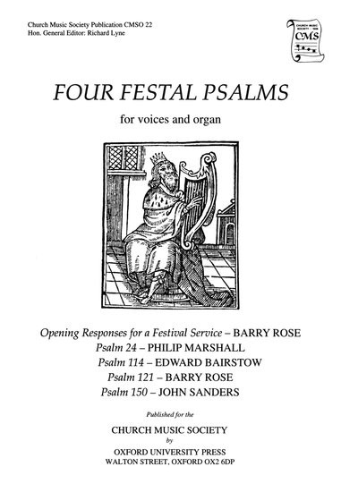 Bairstow: Four Festal Psalms SATB published by OUP