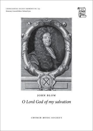 Blow: O Lord God of my salvation published by OUP