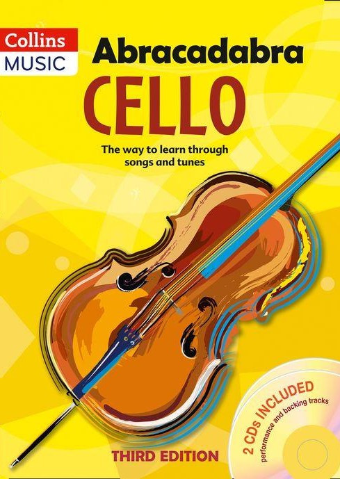 Abracadabra Book & CD for Cello published by Collins