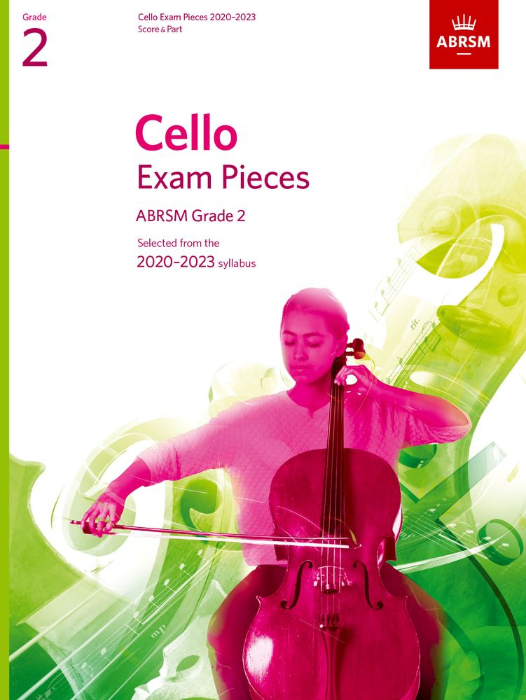 ABRSM Cello Exam Pieces 2020-2023 Grade 2 Score & Part