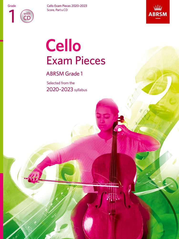 ABRSM Cello Exam Pieces 2020-2023 Grade 1 Score, Part & CD