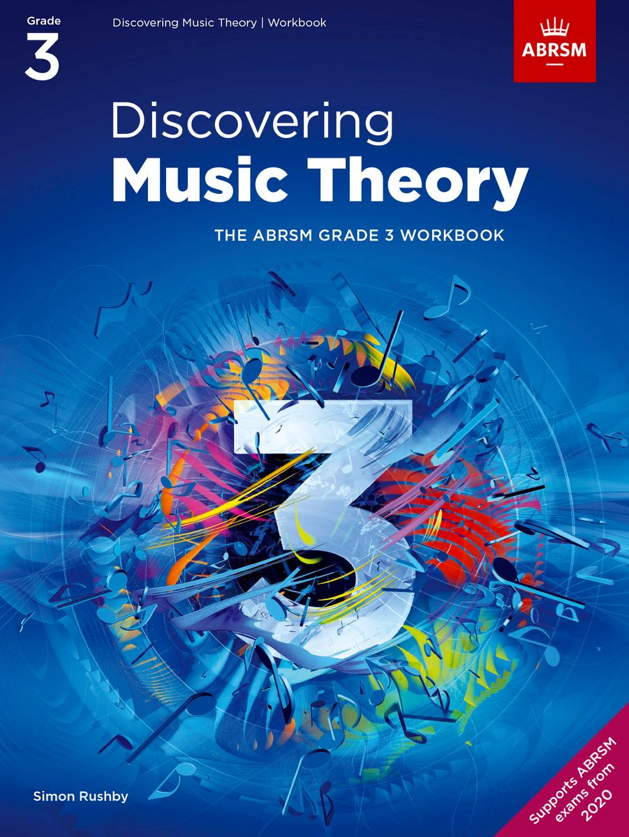 Discovering Music Theory Grade 3 published by ABRSM