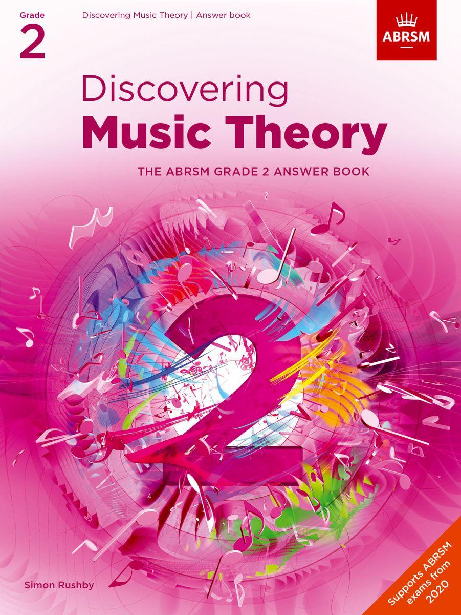 Discovering Music Theory Grade 2 Answer Book published by ABRSM