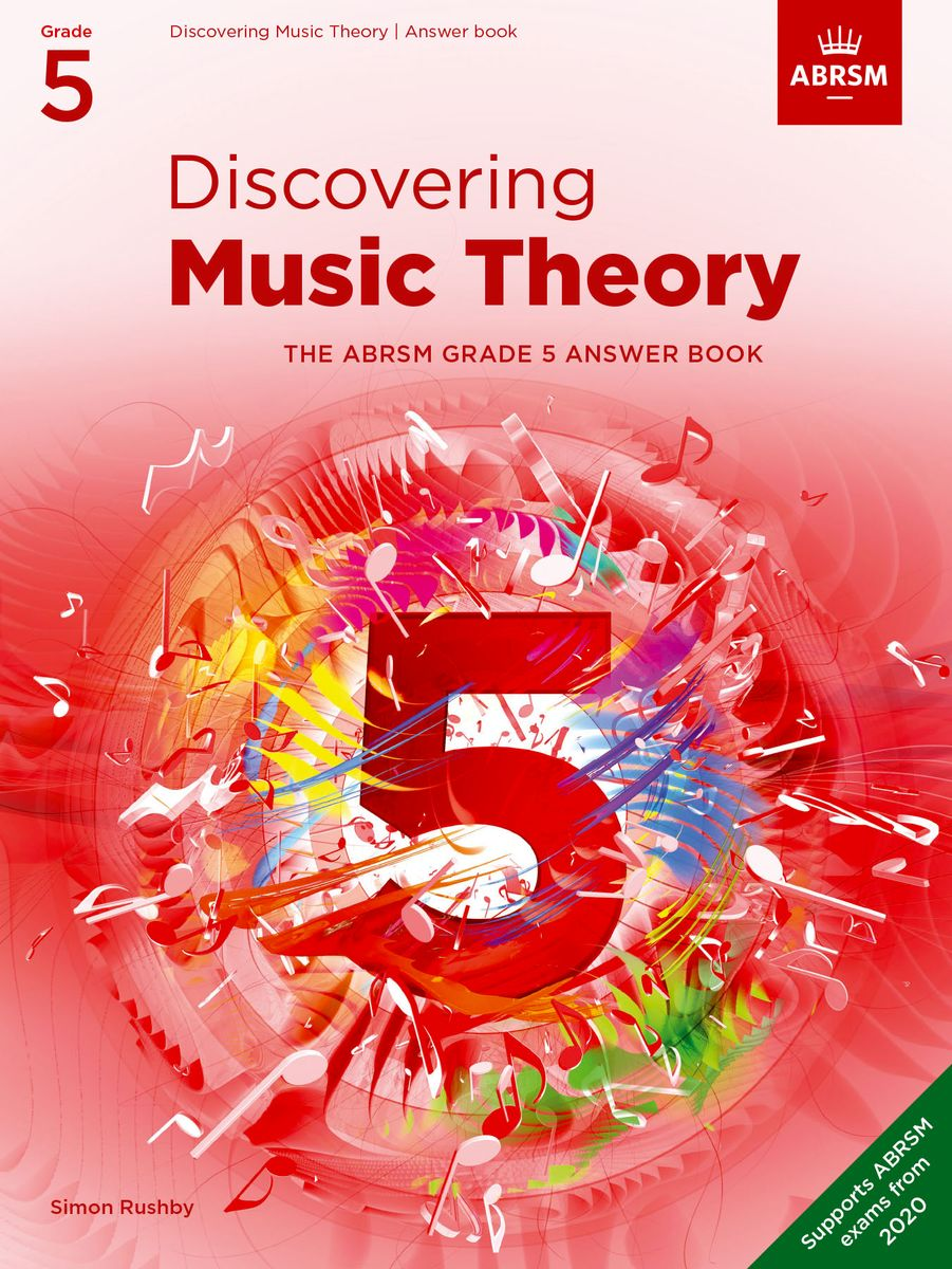 Discovering Music Theory Grade 5 Answer Book published by ABRSM
