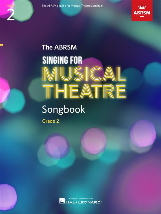 ABRSM Singing for Musical Theatre Songbook Grade 2 published by Hal Leonard