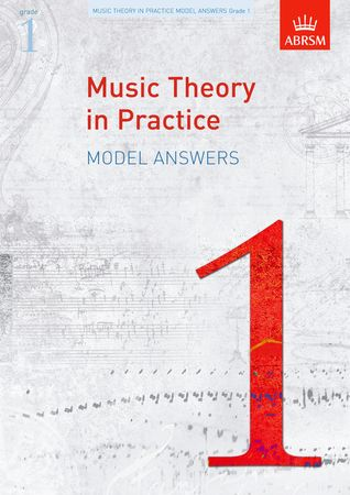Music Theory in Practice Grade 1 Model Answers published by ABRSM