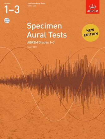 ABRSM Specimen Aural Tests Grade 1 - 3 With CD