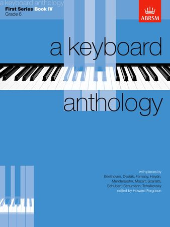 Keyboard Anthology 1st Series Book 4 Grade  6 for Piano published by ABRSM
