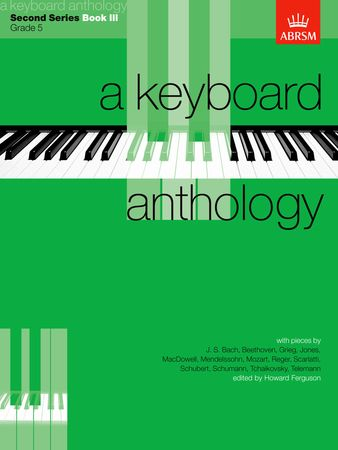 Keyboard Anthology 2nd Series Book 3 Grade 5 for Piano published by ABRSM