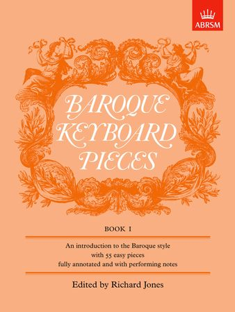 Baroque Keyboard Pieces Book 1 for Piano published by ABRSM