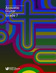 LCM Acoustic Guitar Handbook from 2019 Grade 7