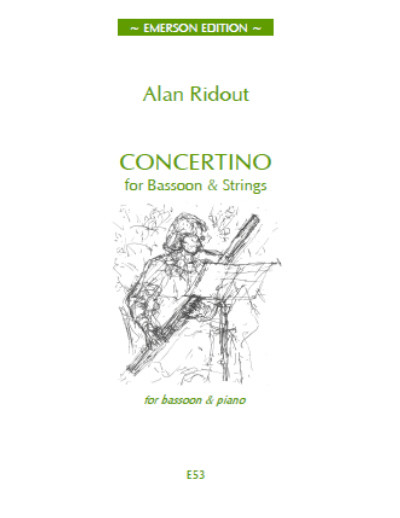 Ridout: Concertino for Bassoon published by Emerson