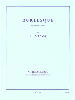 Bozza: Burlesque for Bassoon published by Leduc