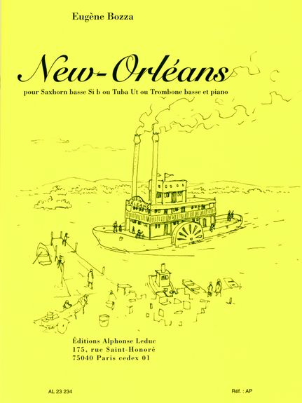 Bozza: New Orleans for Bass Trombone or Tuba published by Leduc