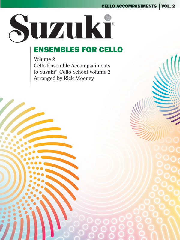 Suzuki Ensembles for Cello 2 published by Alfred