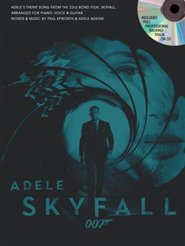 Adele: Skyfall (James Bond Theme) with backing CD published by Wise