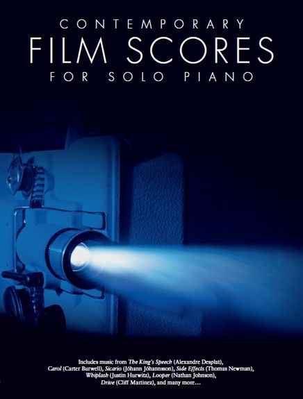 Contemporary Film Scores For Solo Piano published by Wise