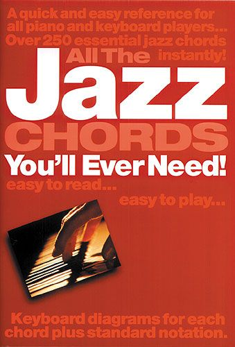 All The Jazz Chords You'll Ever Need for Keyboard published by Wise