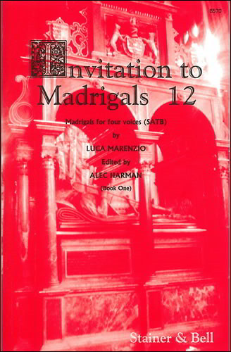 Invitation to Madrigals Book 12 (SATB) published by Stainer & Bell