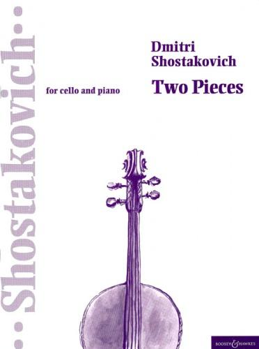 Shostakovich: 2 Pieces for Cello published by Boosey & Hawkes