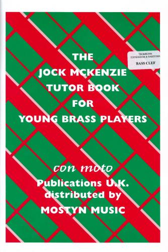 Jock McKenzie Tutor Book 1 for Bass Clef Brass published by Mostyn
