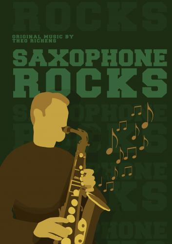 Richens: Saxophone Rocks published by Con Moto