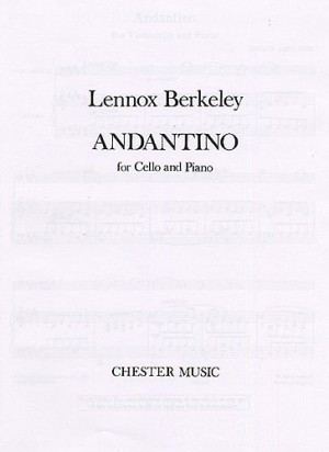 Berkeley: Andantino for Cello published by Chester
