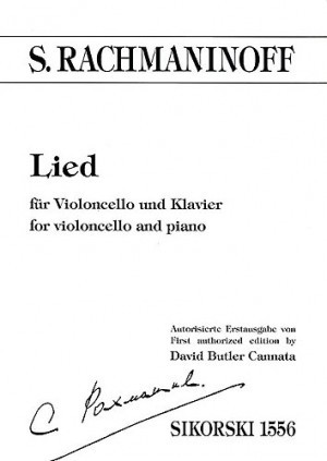 Rachmaninov: Lied in for Cello published by Sikorski