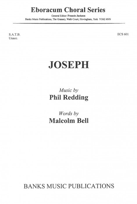 Joseph SATB by Redding published by Banks