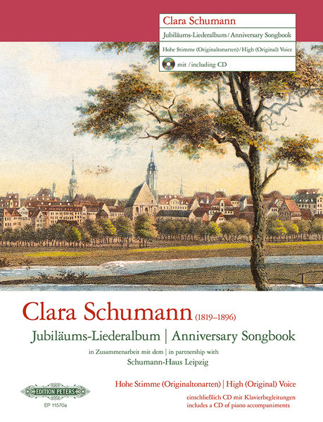 Clara Schumann Anniversary Songbook (High Voice) published by Peters